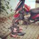 baotian unfall roller mit neuem Motor mit 200 km Laufleistung