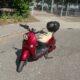 Unu e-Roller Rot versichert bis 2021 inkl. Topcase und Bremscheibenschloss