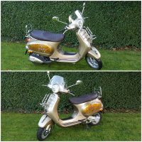 Vespa LX 50 4v Touring mit Sonderlackierung Jim Beam Honey