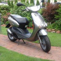 Yamaha Neo's , silber