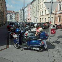 VERKAUF - VESPA GT 200 - BLAU